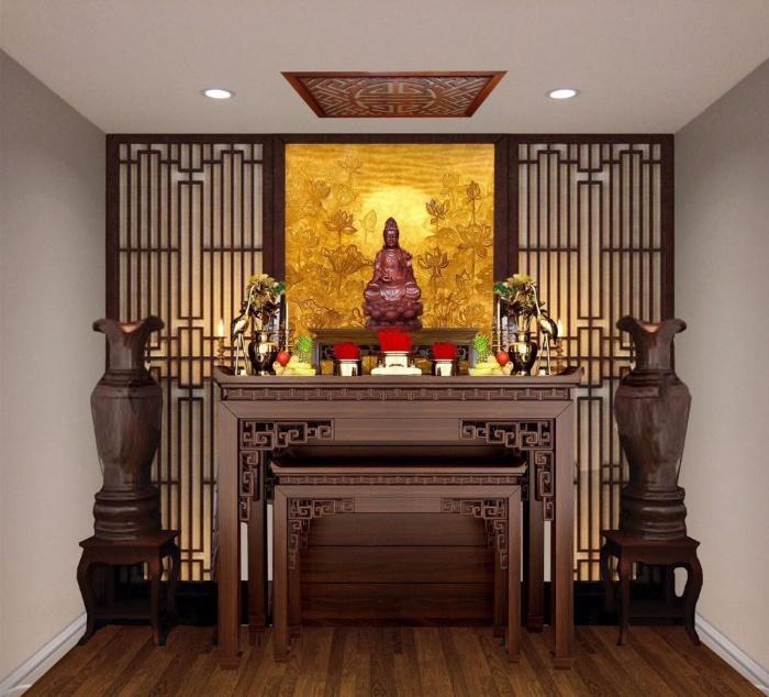 Lập bàn thờ thần tài là một việc vô cùng quan trọng tuyệt đối không được làm qua loa và đại khái