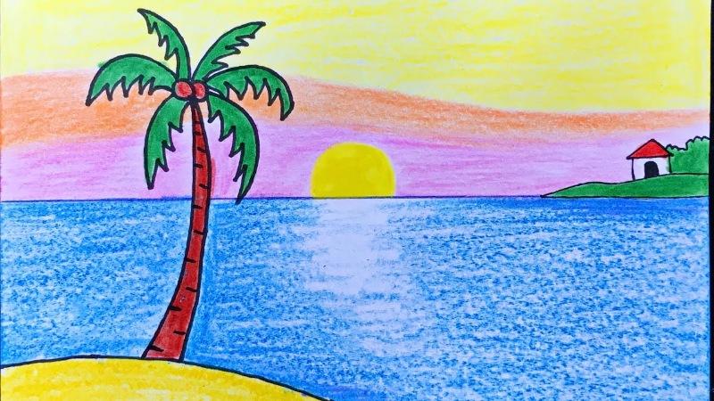 Giấc mơ thấy đang vẽ tranh là điềm báo cho thấy trong cuộc sống hiện tại bạn đang có một đam mê nào đó