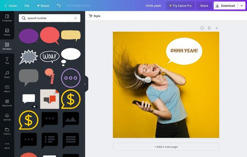 Canva là phần mềm đồ họa có tác dụng biến ý tưởng của bạn thành những thiết kế đẹp